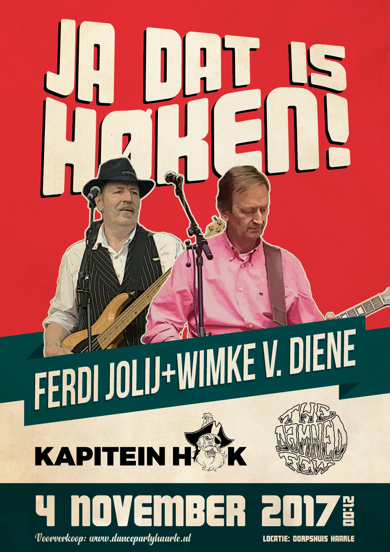Ja dat is Høken poster 2017
